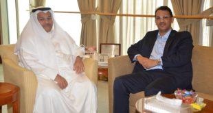 Sidi Khalil Ould Errachid reunirse con el presidente de la Cámara de Comercio de Kuwait