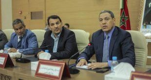 Reunión con el Wali de Región de Laayoune Sakia El Hamra