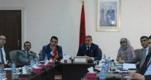 El Presidente de la CCIS asiste a una reunión presidida por el Sr. Wali para seguir el programa Intilaka.