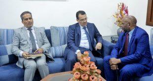 زيارة قنصل جمهورية جزر القمر لغرفة التجارة