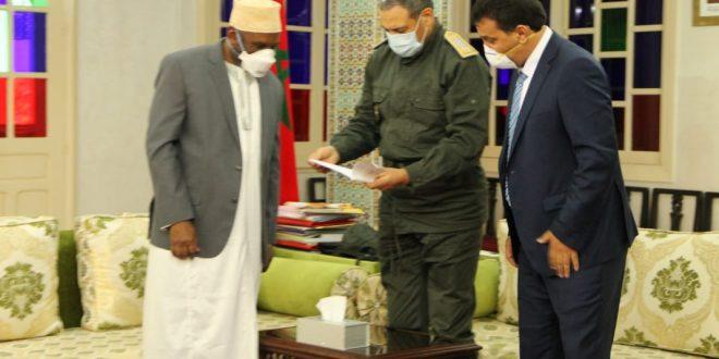 Lettre de remerciement du Consul Général de l'union des Comores