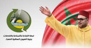 El Sr. El Khalil Ould Errachid felicita a Su Majestad el Rey por el éxito de la operación quirúrgica.