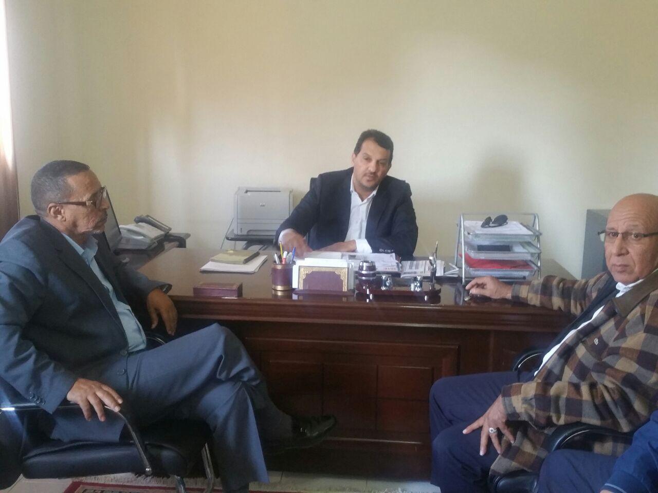 Monsieur le Président de la Chambre de Commerce,d'industrie et de Services de la région de Lâayoune Sakia El hamra