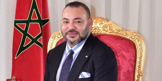 Message de Félicitations adressé à Sa Majesté le Roi à l'Occasion de la Fête du Aid Al fitr 2018