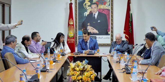 إتفاقية شراكة بين الغرفة و جمعية المصدريين بالمغرب