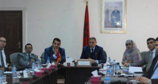 حضور السيد الرئيس اجتماع ترأسه السيد الوالي لتتبع برنامج انطلاقة