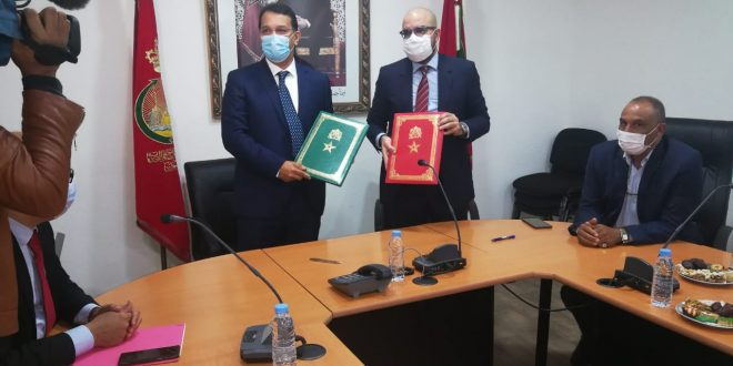 A partnership agreement between the Chamber and AttijariWafa Bank