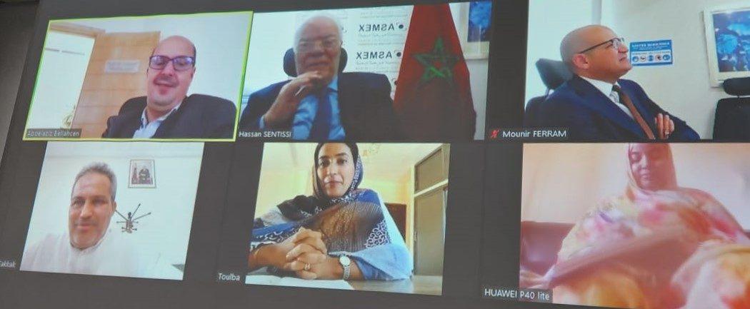 اجتماع حول اتفاقية خلق تمثيلية جهوية للجمعية المغربية للمصدرين بمدينة العيون